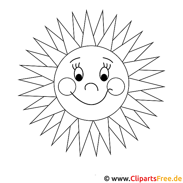 Sonne Malvorlage