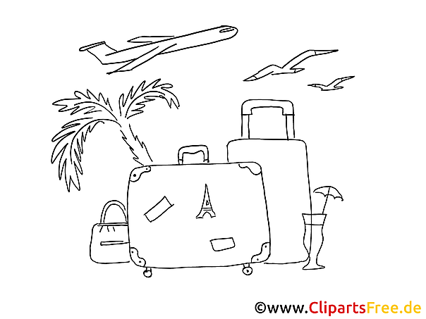 Malvorlagen Urlaub Kostenlos My Blog