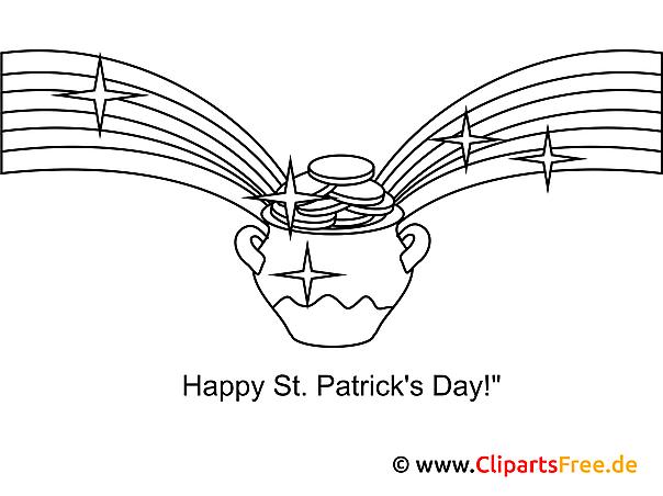 Nett St Patricks Ausmalbilder Zum Ausdrucken Zeitgenössisch ...