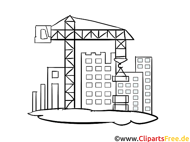 Baustelle ausmalbilder  Baustelle Malvorlage, Bild, Grafik zum Ausmalen