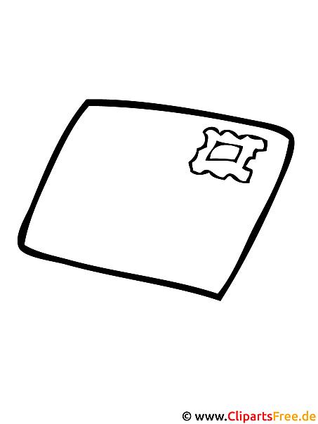 Brief Bild - Malvorlagen ausmalen kostenlos