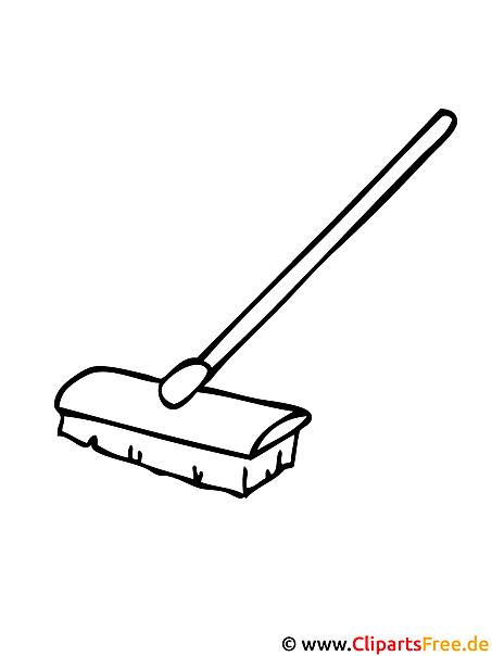 Malvorlage Buerste Werkzeuge Bilder