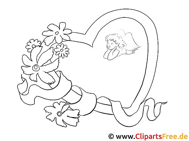 Bekannte Herz Blumen Valentinstag Bilder zum Ausmalen PN25