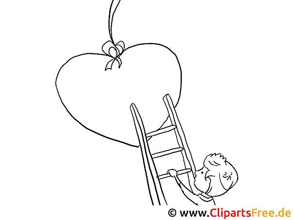 Ausmalbild Junge: Junge Herz Ausmalbilder Für Kinder Kostenlos Ausdrucken