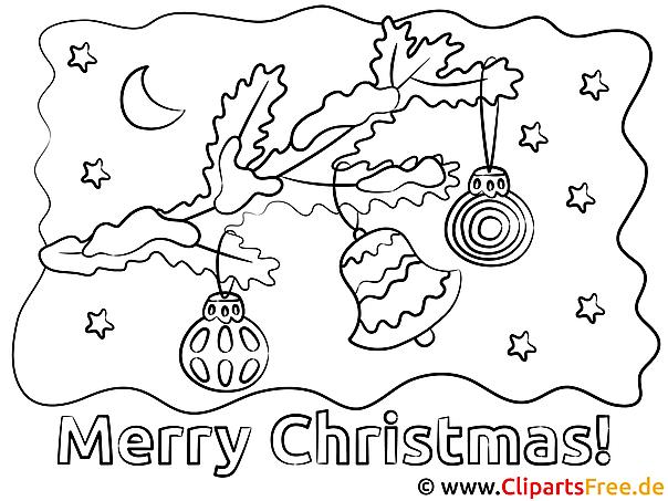 Ausmalen Weihnachten