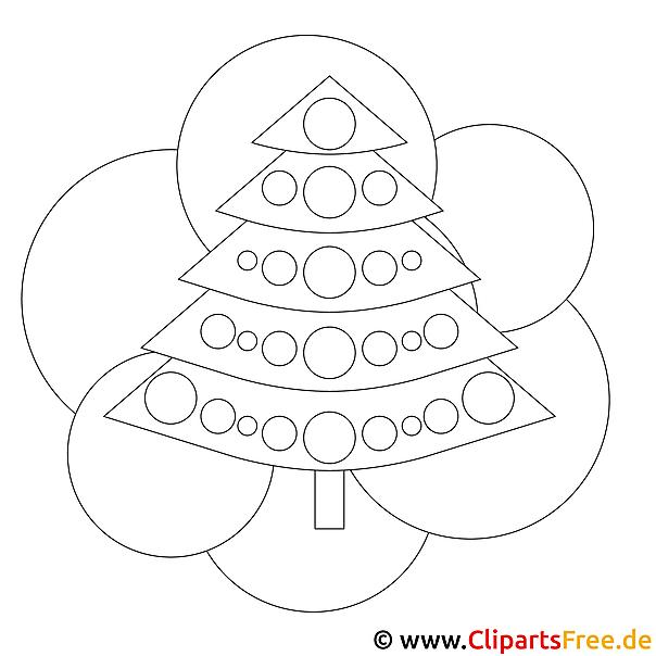 Ausmalbilder Weihnachten Tannenbaum.Kostenloses Ausmalbild Zu Weihnachten Tannenbaum