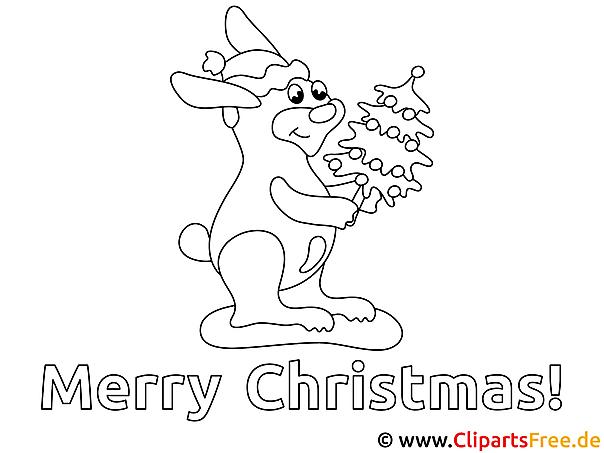 Weihnachten Ausmalen