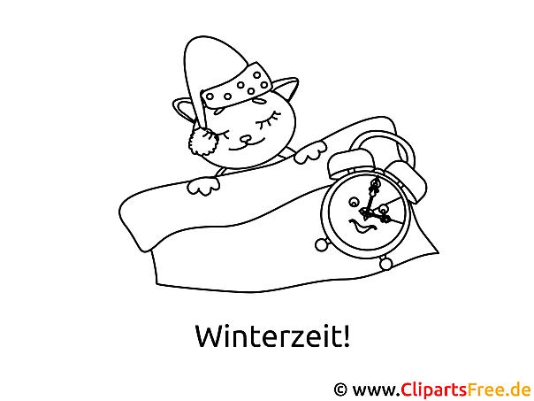 Zelt Zum Ausmalen : Winter zeit ausmalbild zum ausmalen