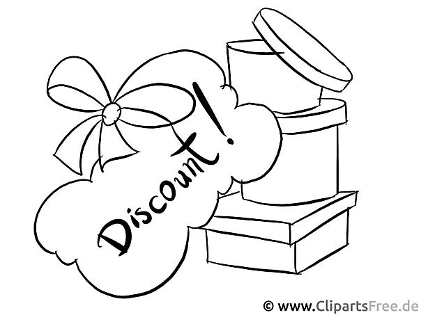 Discount Ausmalbild