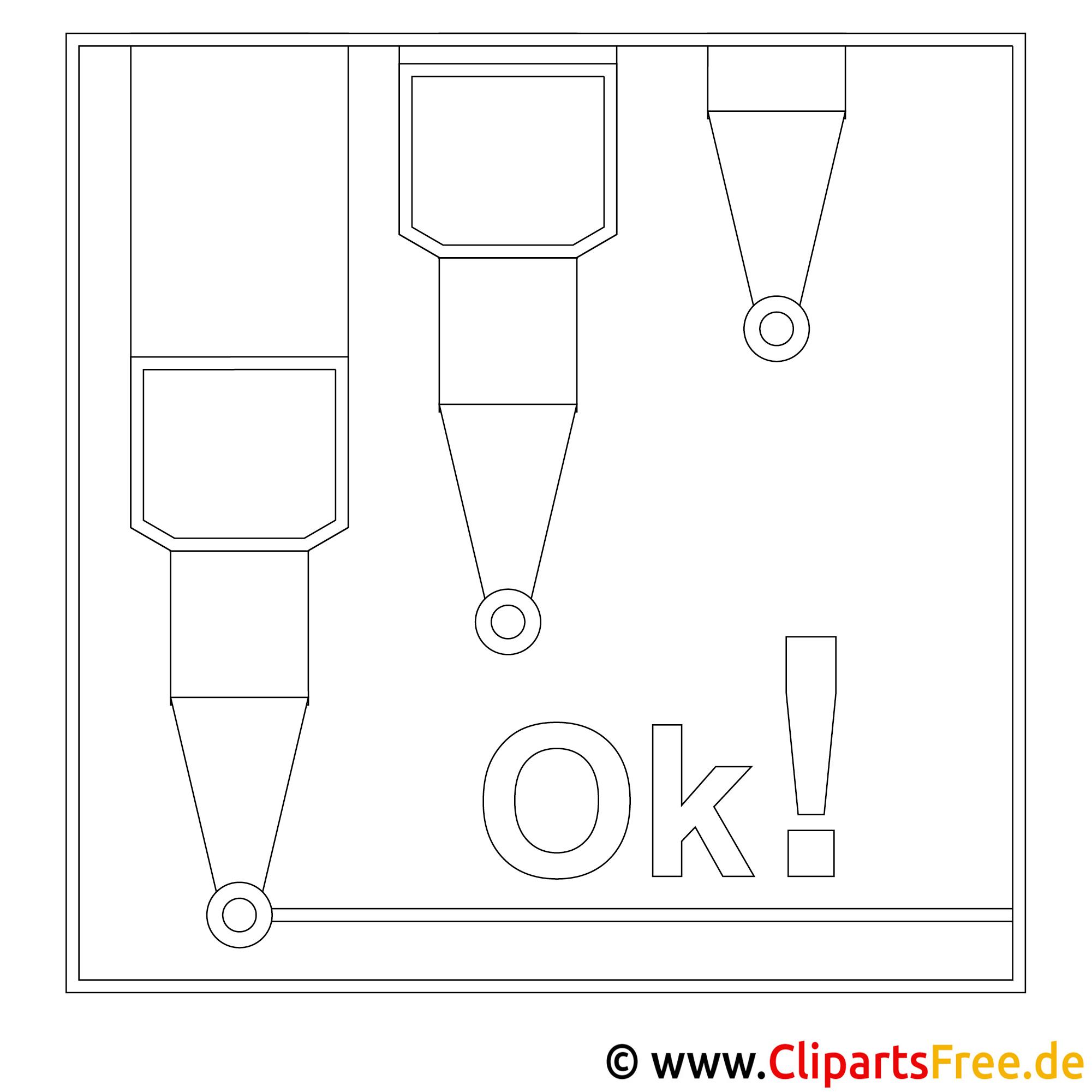 stifte bild zum ausmalen malvorlage ausmalbild. Black Bedroom Furniture Sets. Home Design Ideas