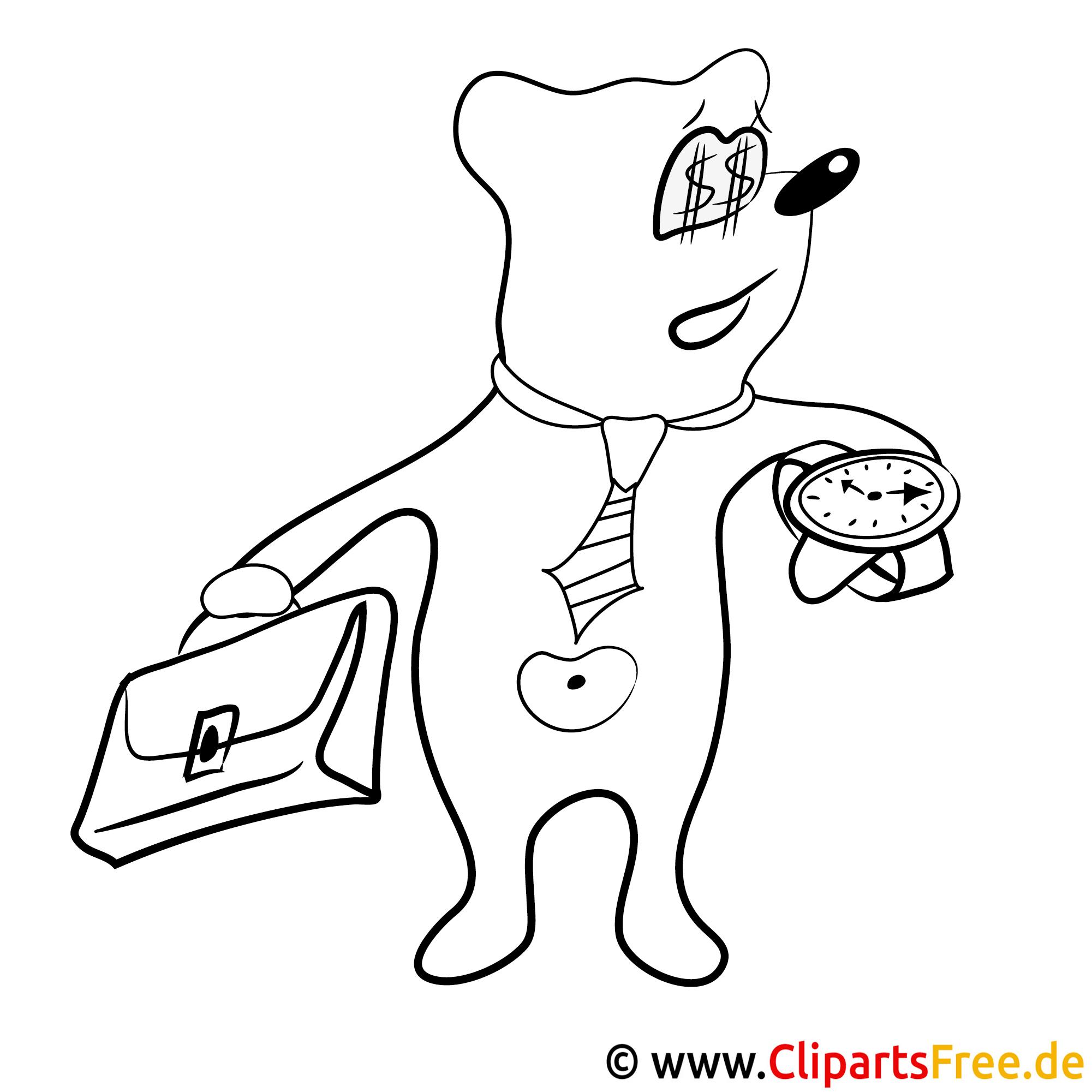 Teddy Bild Zum Ausmalen Malvorlage