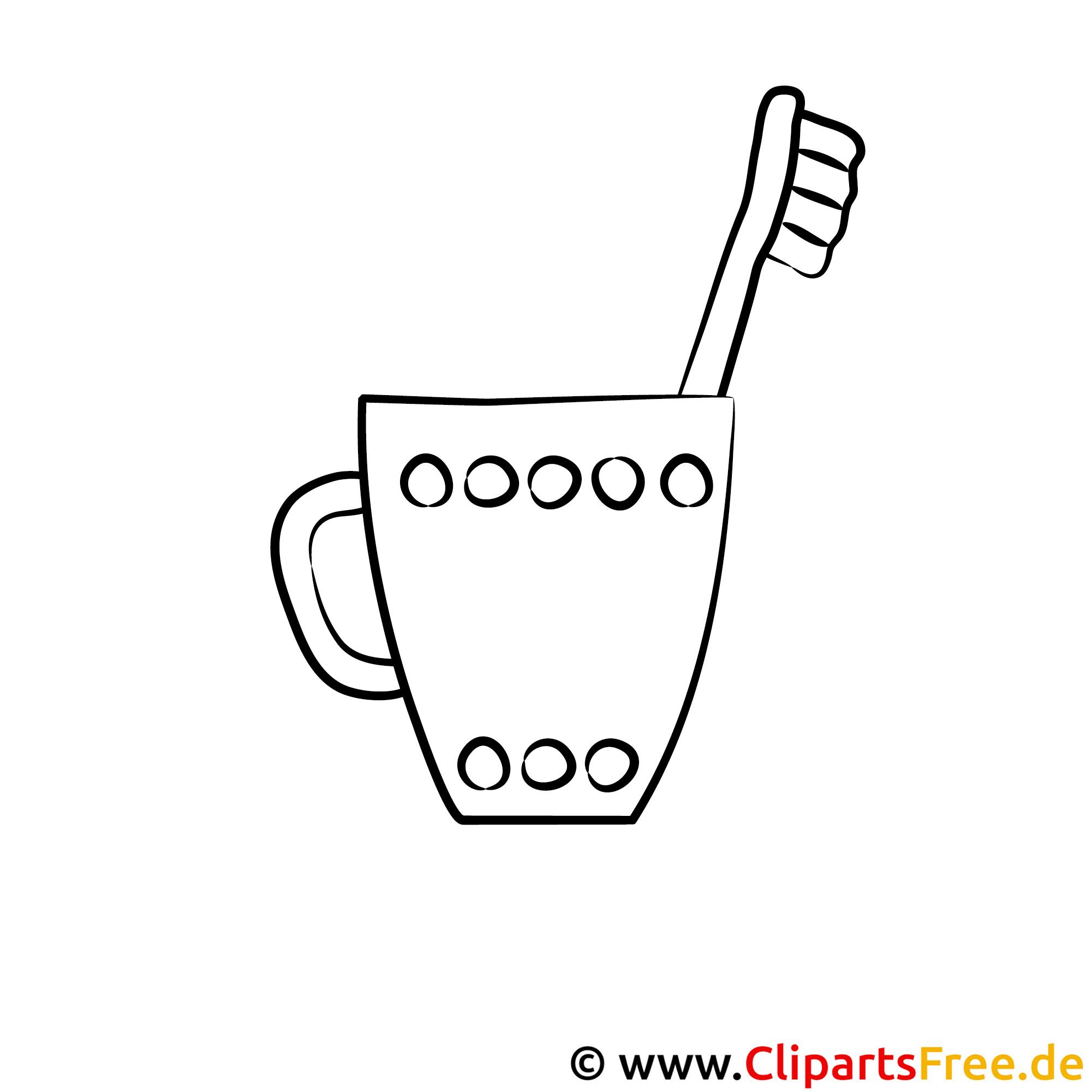 Tasse Ausmalbild | Haus Deko Ideen