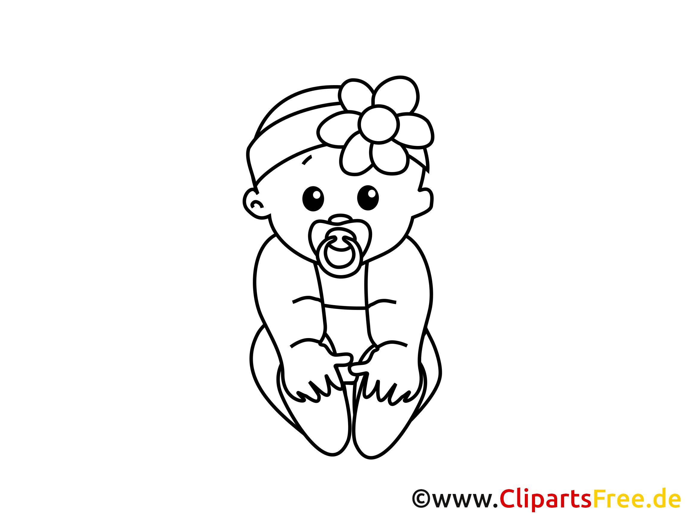 kleines baby bild zum ausdrucken und ausmalen