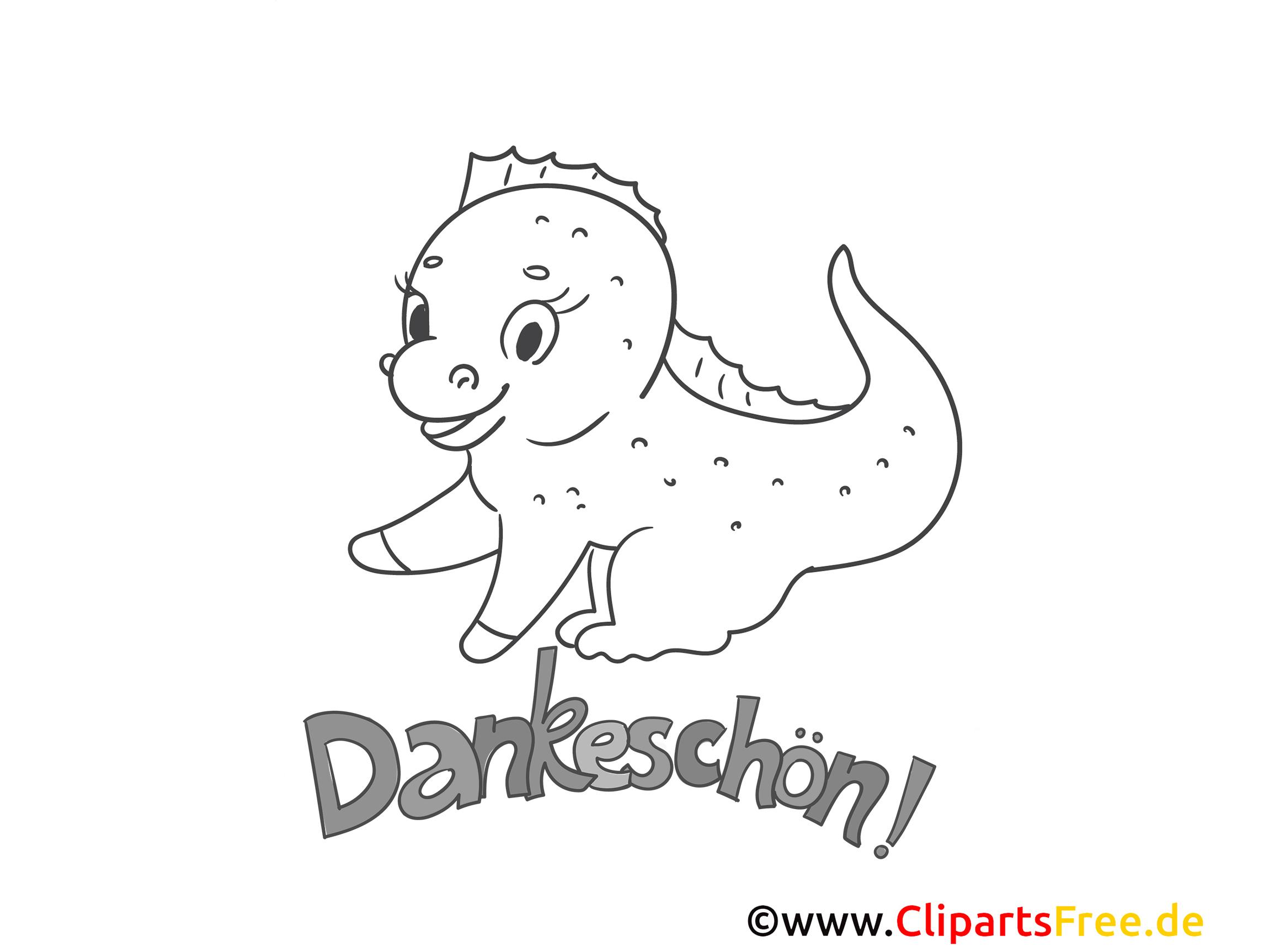 Dinosaurier Dankeskarten Drucken Und Ausmalen