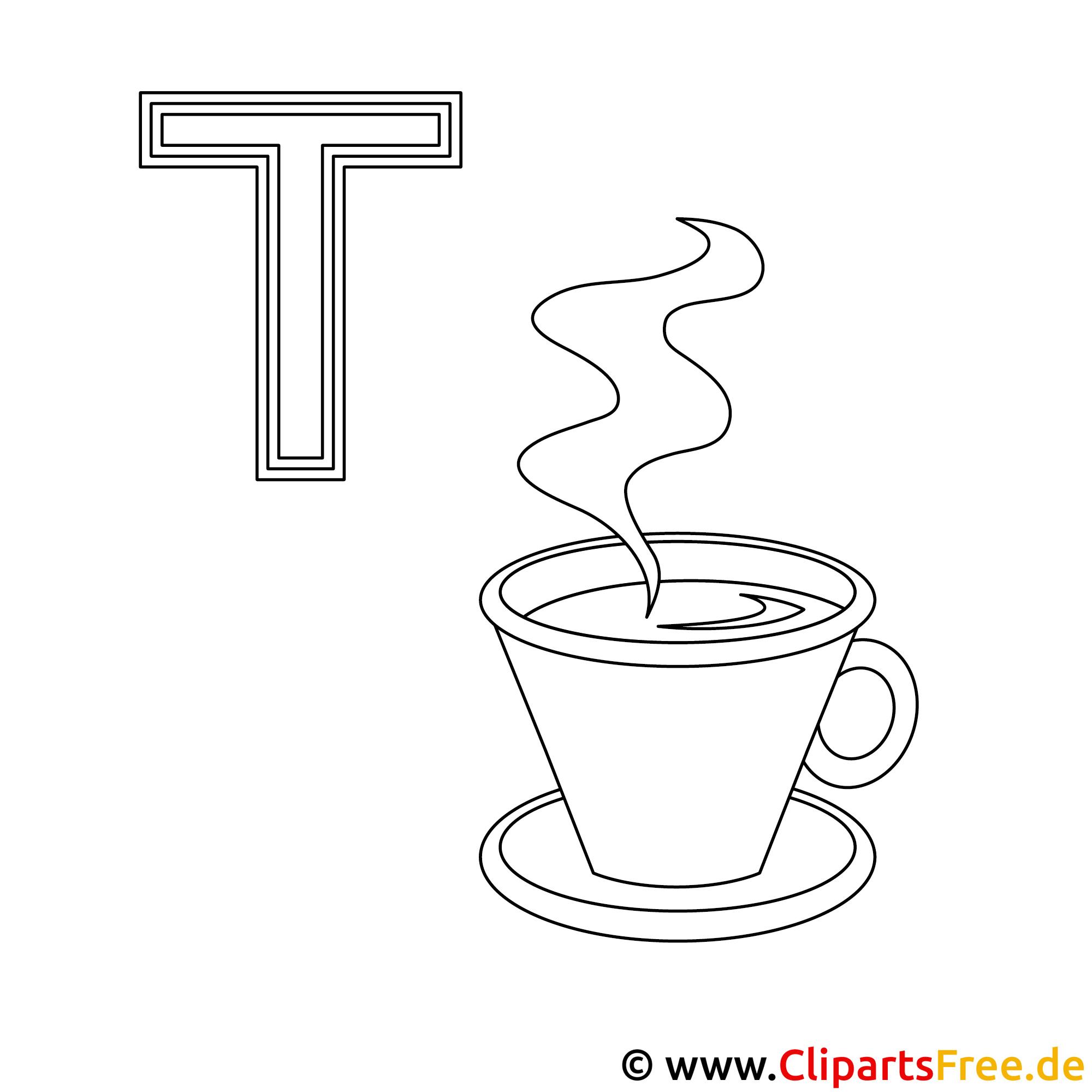 Ziemlich Tee Tasse Malseite Ideen - Malvorlagen-Ideen ...
