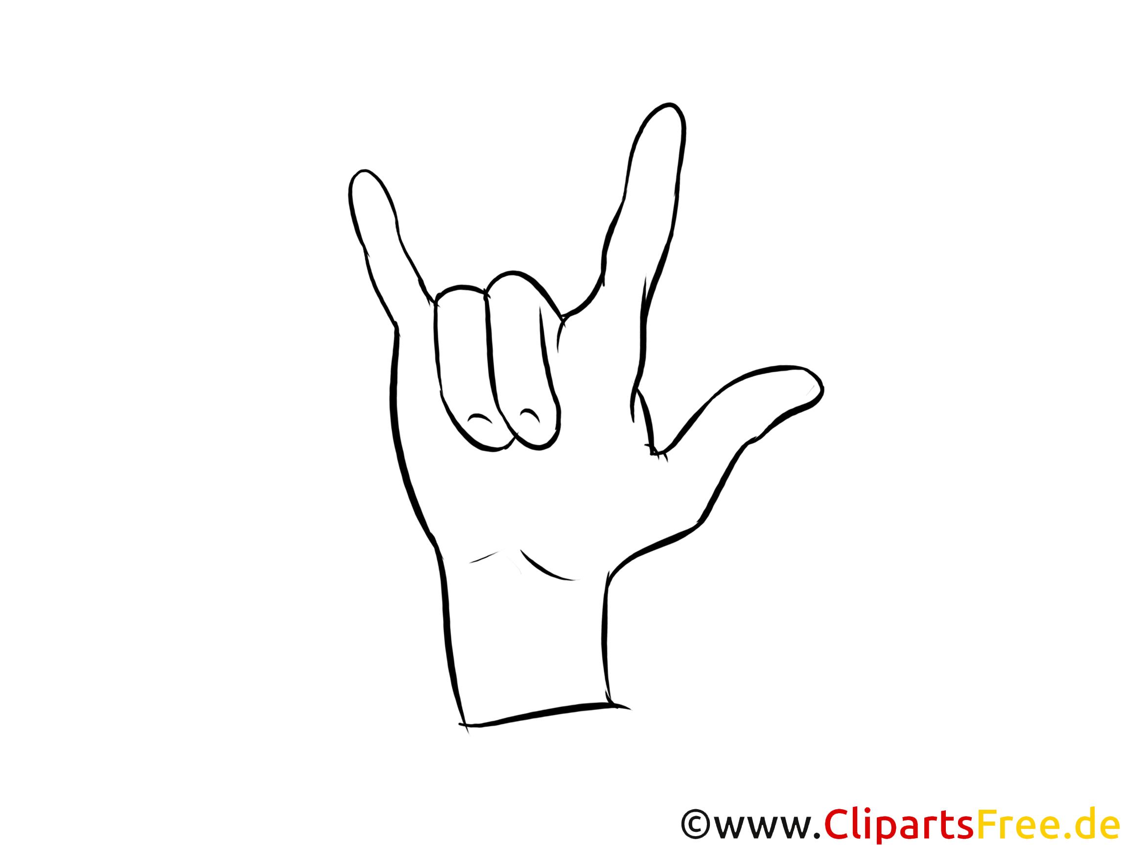 Finger Hand Malvorlage  Coloring and Malvorlagan