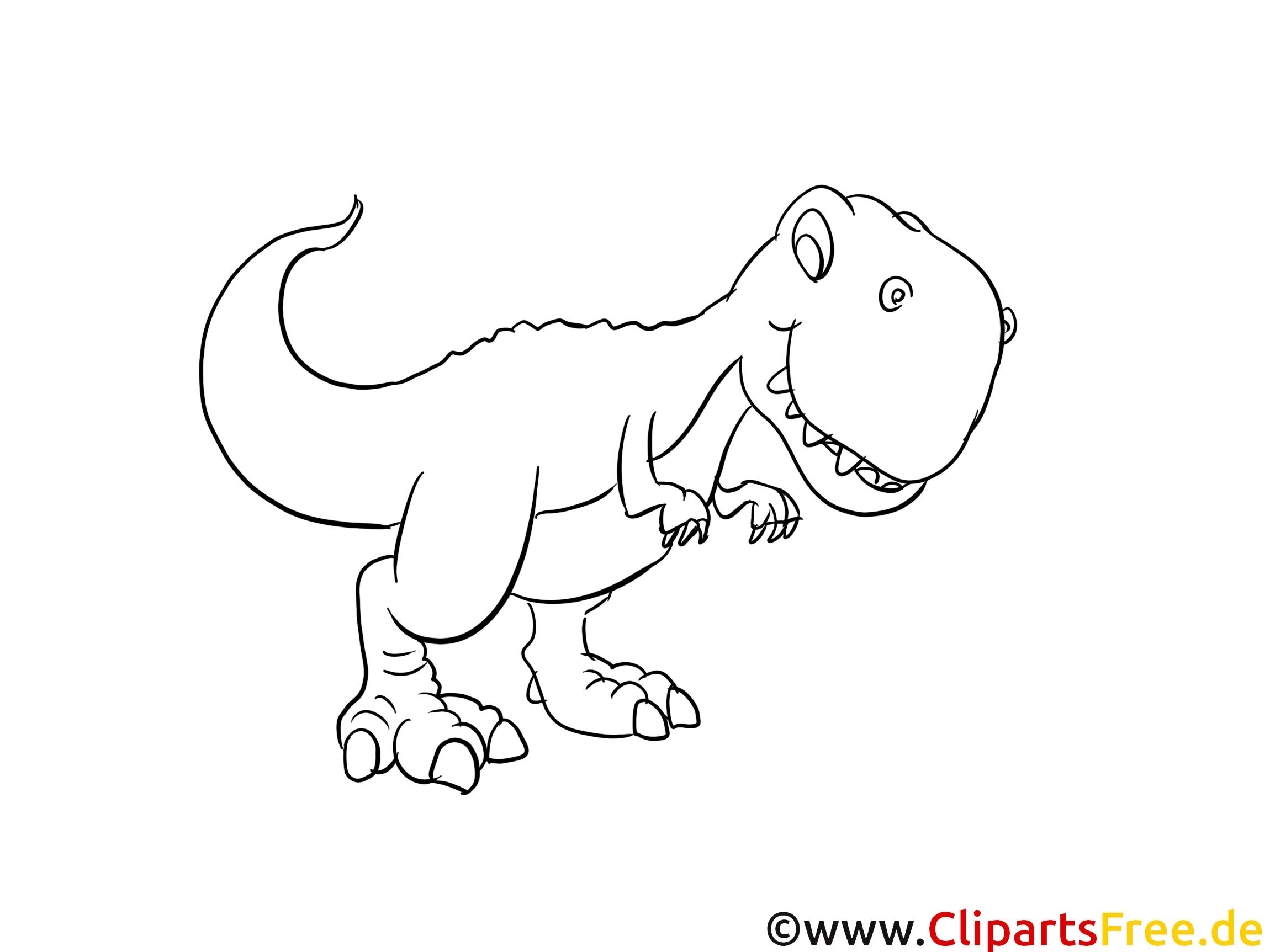 Rex dinosaurier ausmalbild - Coloriage dinosaure tyrex ...