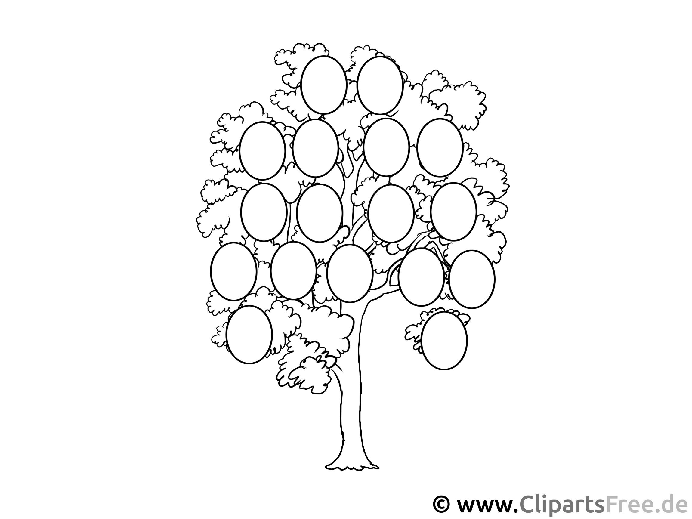 Stammbaum bild zum ausmalen for Stammbaum zum ausdrucken