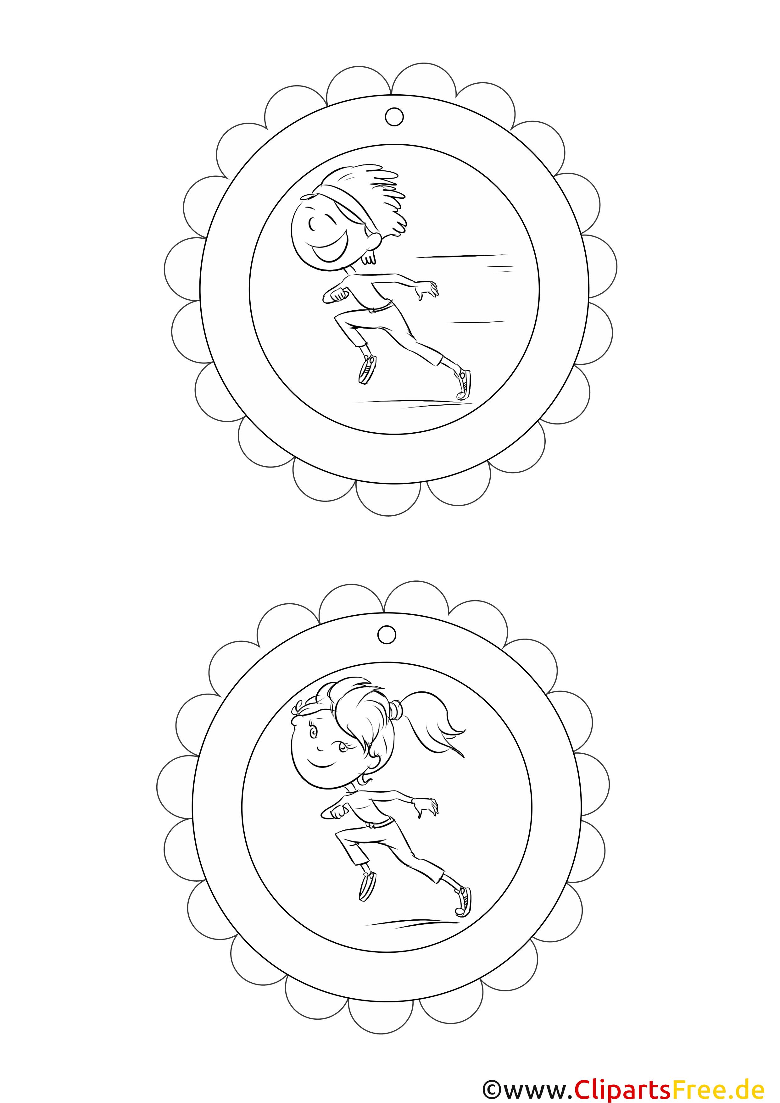sportmedaillen medaillen selbst basteln vorlagen