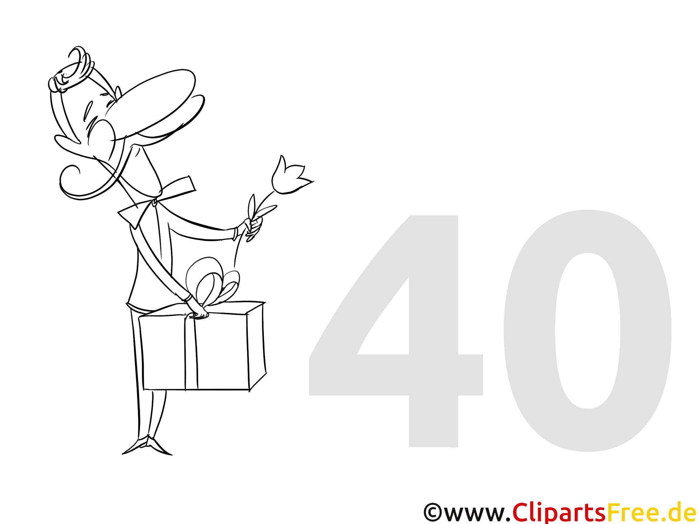 Einladung 40 Geburtstag Selbst Gestalten: Einladung Zum 40. Geburtstag Selbst Gestalten