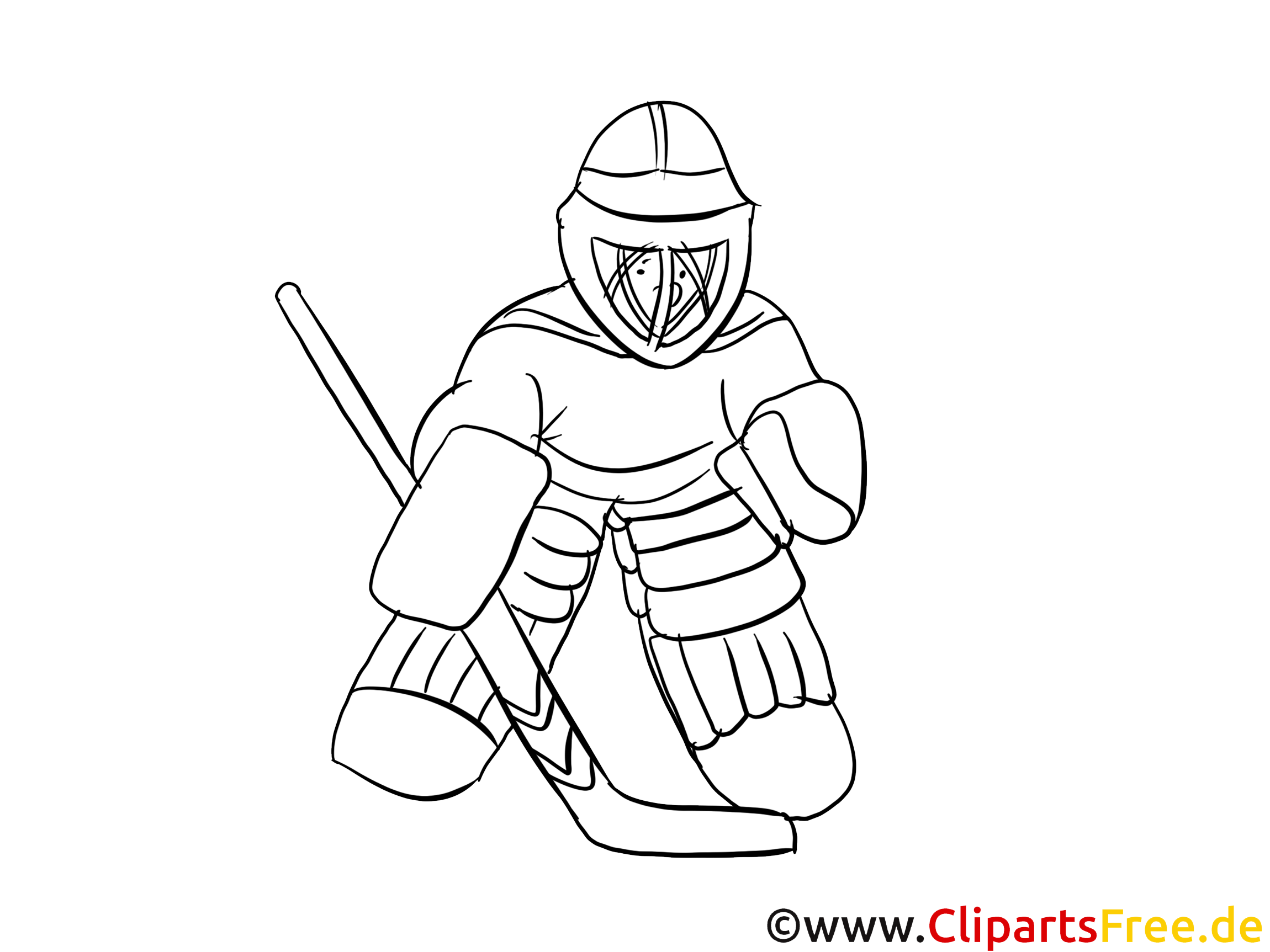 gratis malvorlagen zum ausdrucken winter sport eishockey