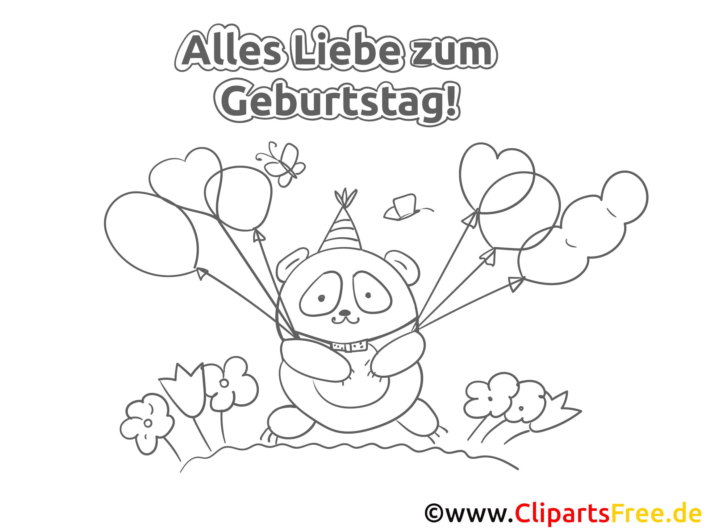 Ausmalbilder Zum 50 Geburtstag : Ausmalbild Geburtstag Luftballons Beste Geschenk Website Foto Blog