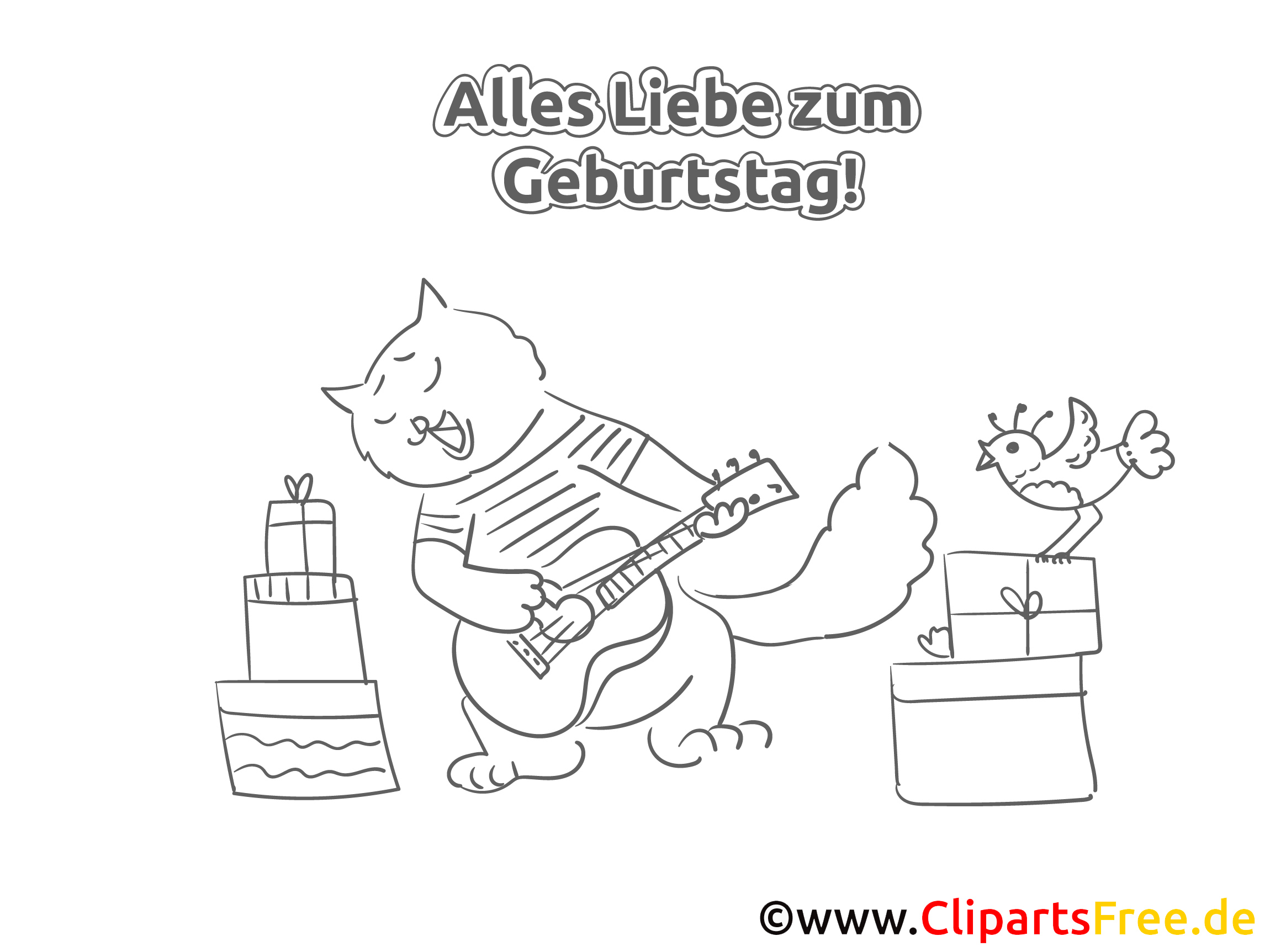 Ausmalbilder Geburtstag 47 : Tolle Alles Gute Zum Geburtstagskarte Malvorlagen Ideen