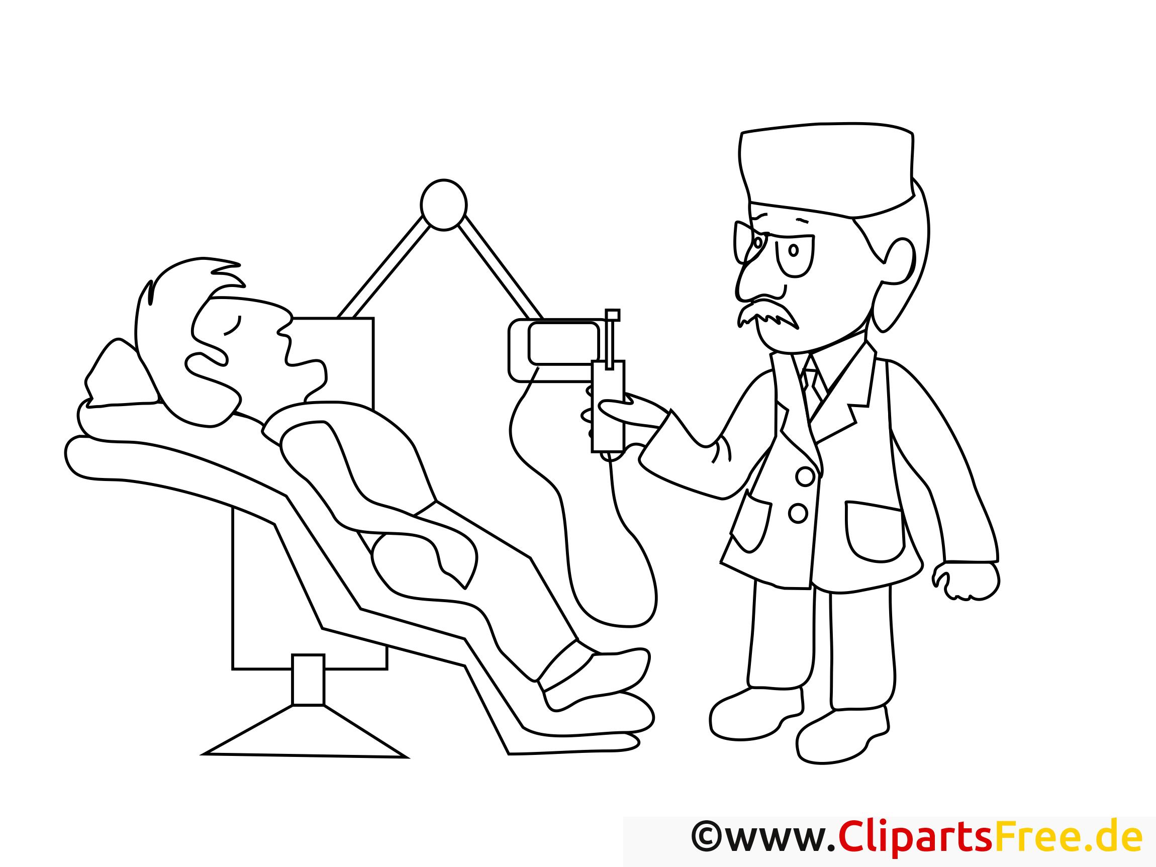 zahnarzt ausmalbilder