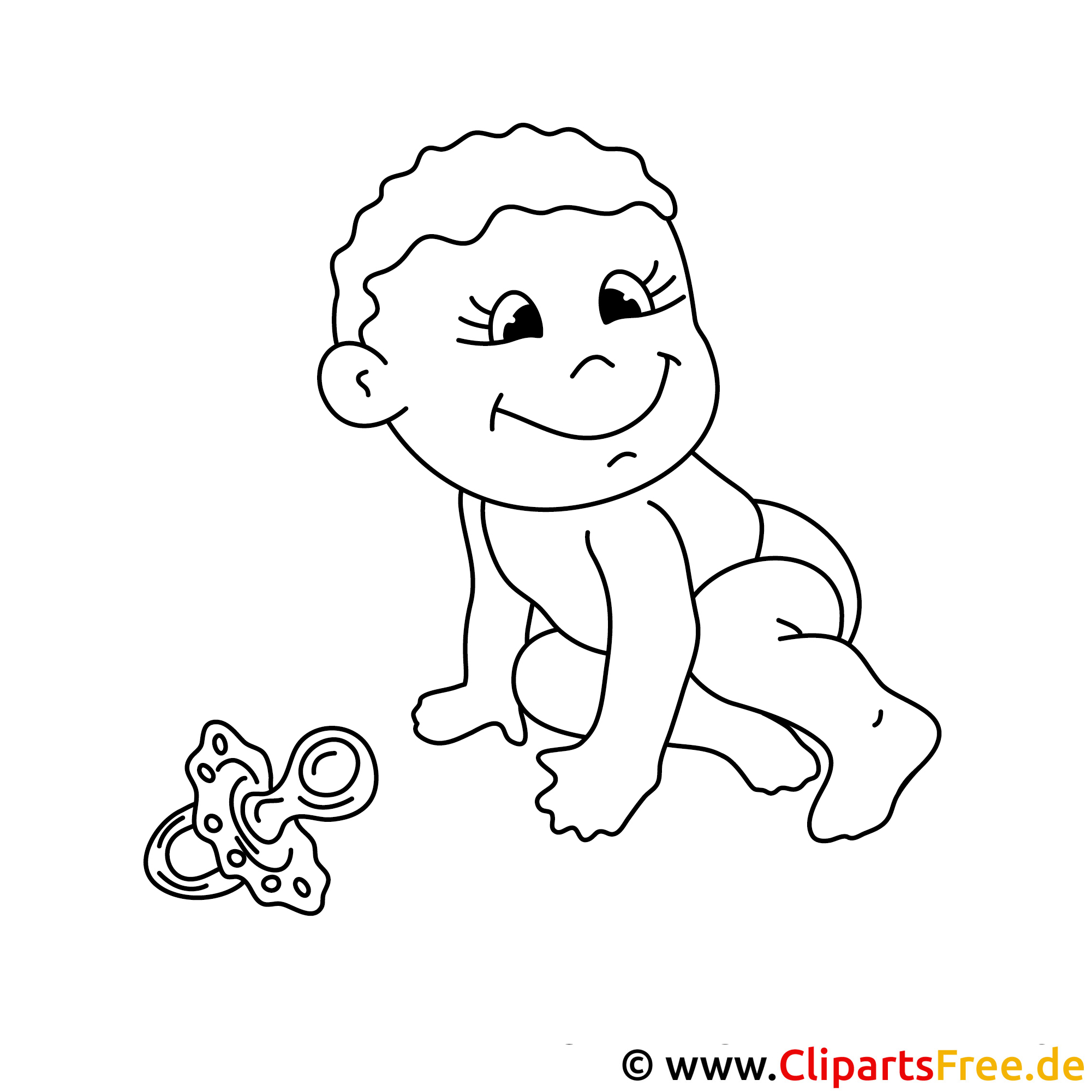 baby malvorlage