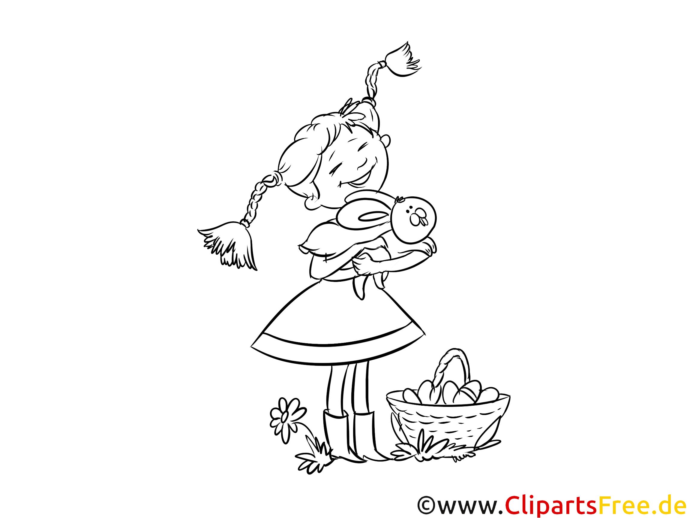 Pippi Langstrumpf Malvorlage Illustration Bild