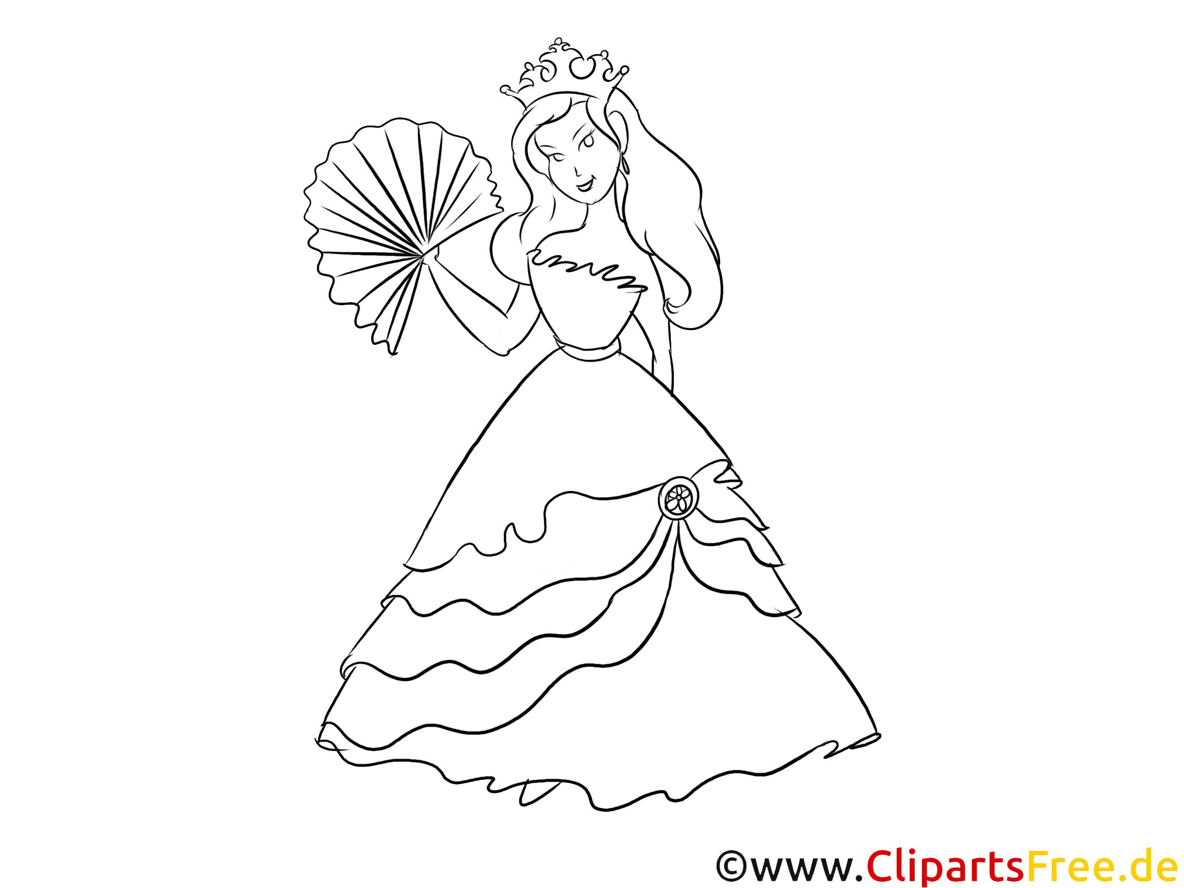 Malvorlagen Für Kinder: Prinzessin Mandala Zum Ausdrucken Und Ausmalbild
