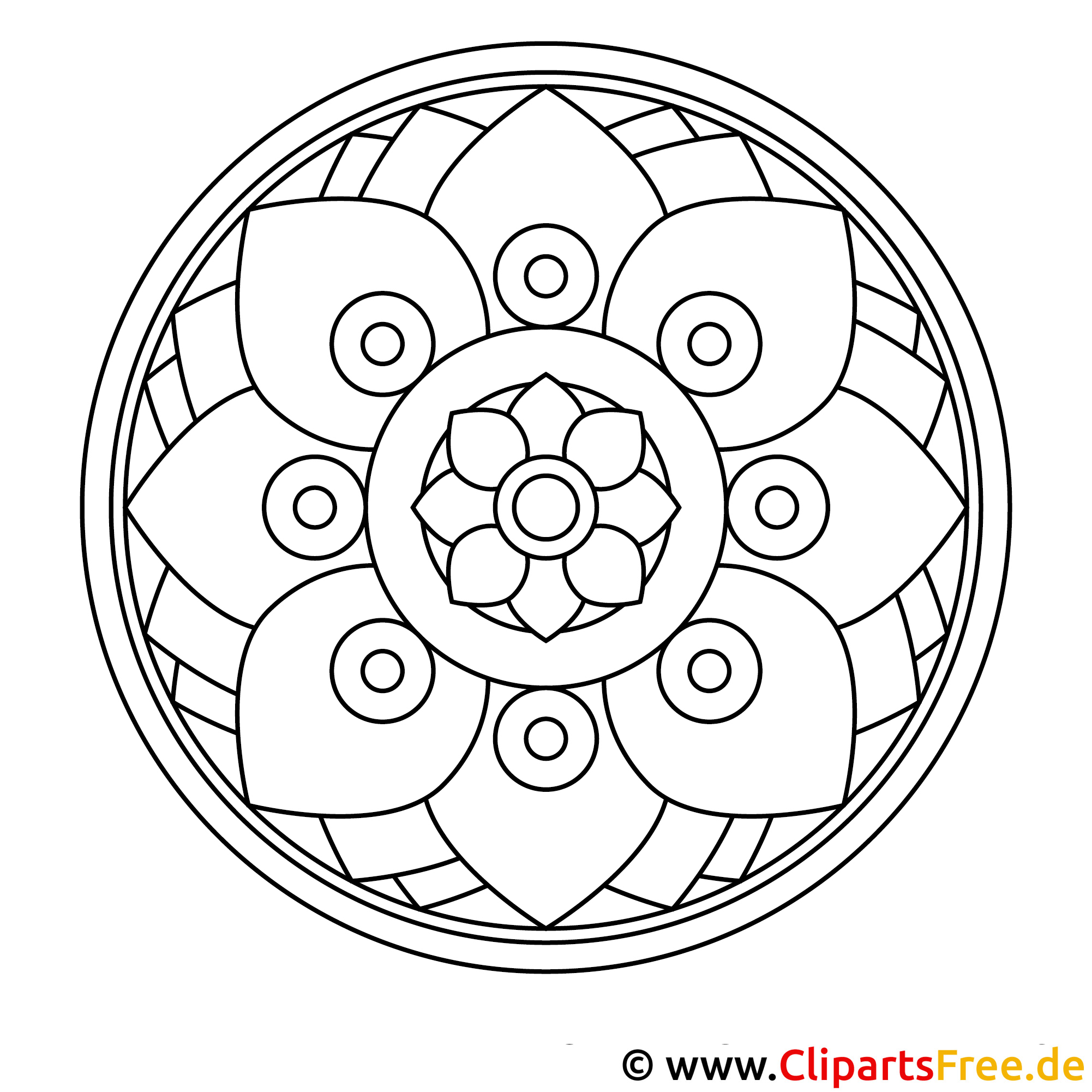 mandalas zum ausmalen on pinterest mandalas zum ausdrucken bilder zum ausmalen and. Black Bedroom Furniture Sets. Home Design Ideas