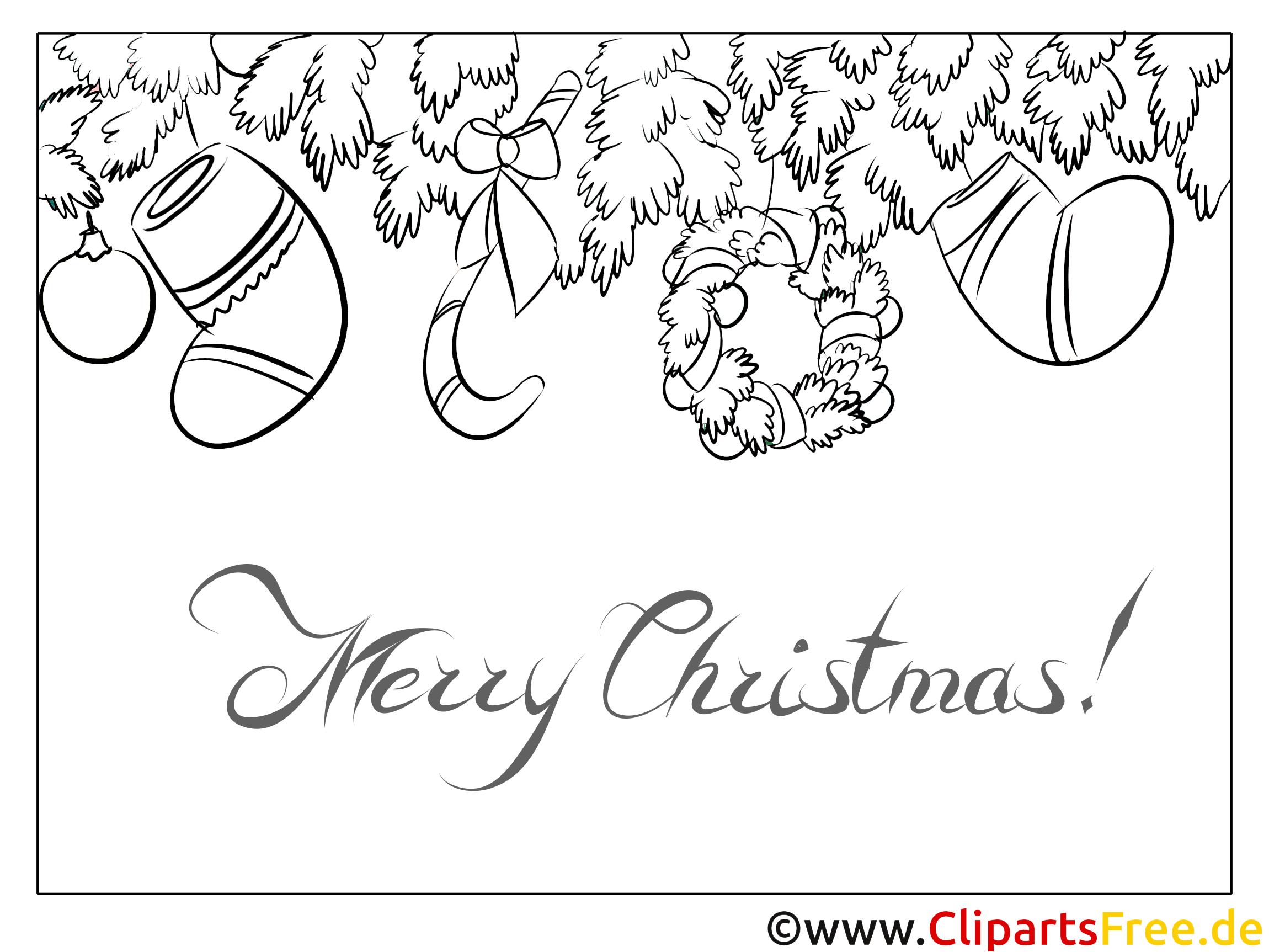 kranz fichte zweig die sch nsten ausmalbilder zu weihnachten. Black Bedroom Furniture Sets. Home Design Ideas