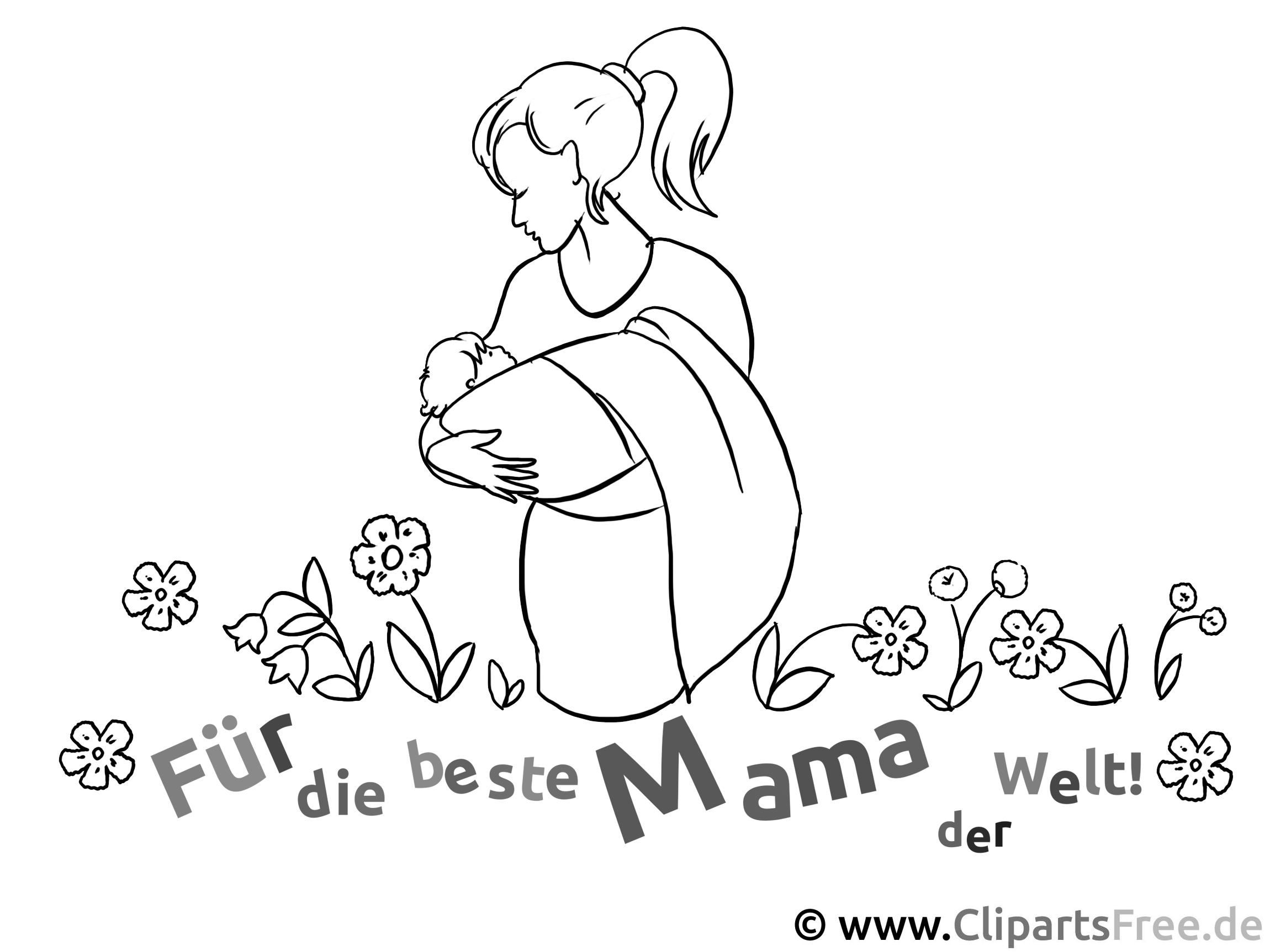Ausmalbilder Zum Muttertag