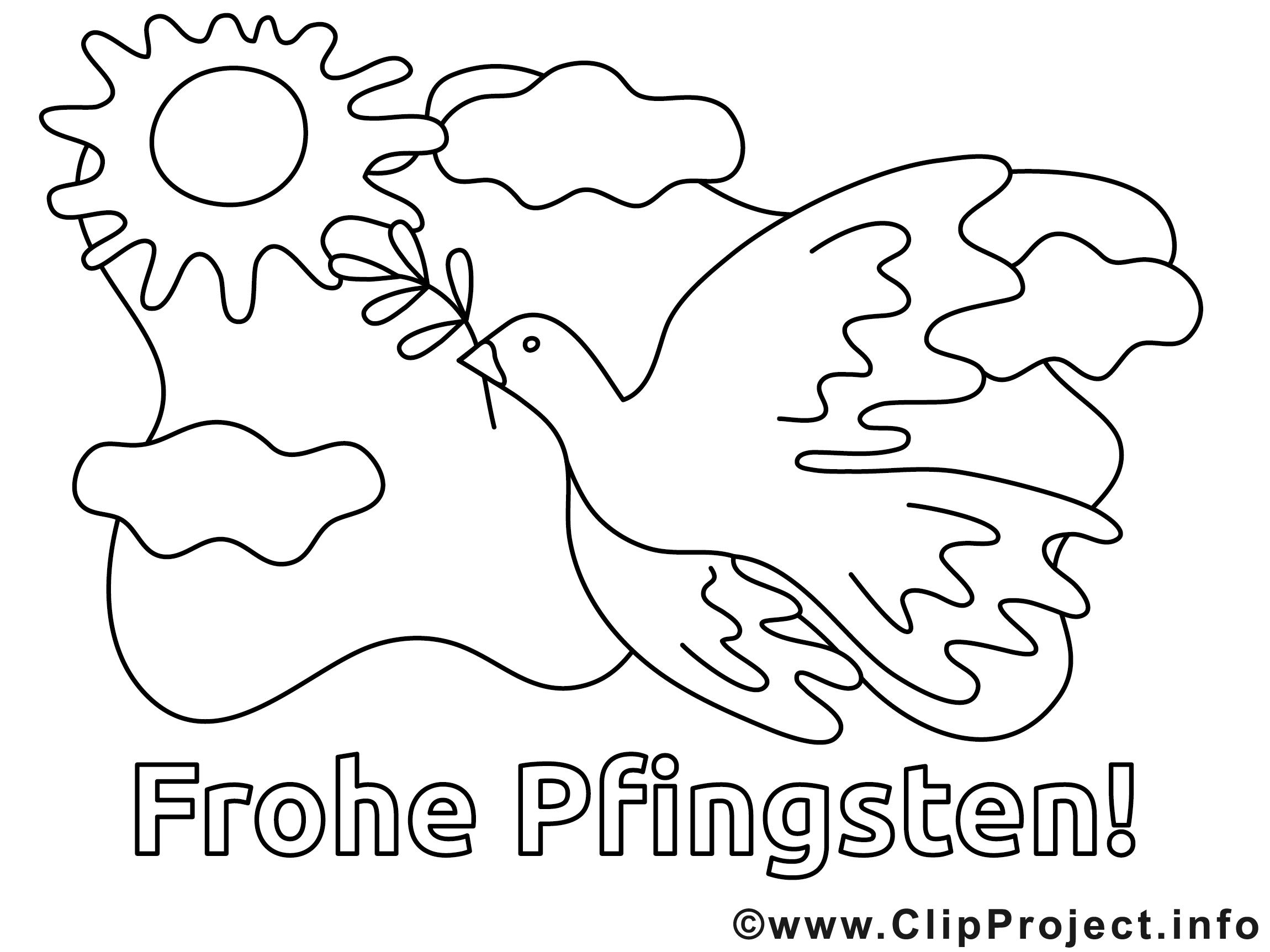 Fein Pfingstmalvorlagen Fotos - Malvorlagen Von Tieren - ngadi.info