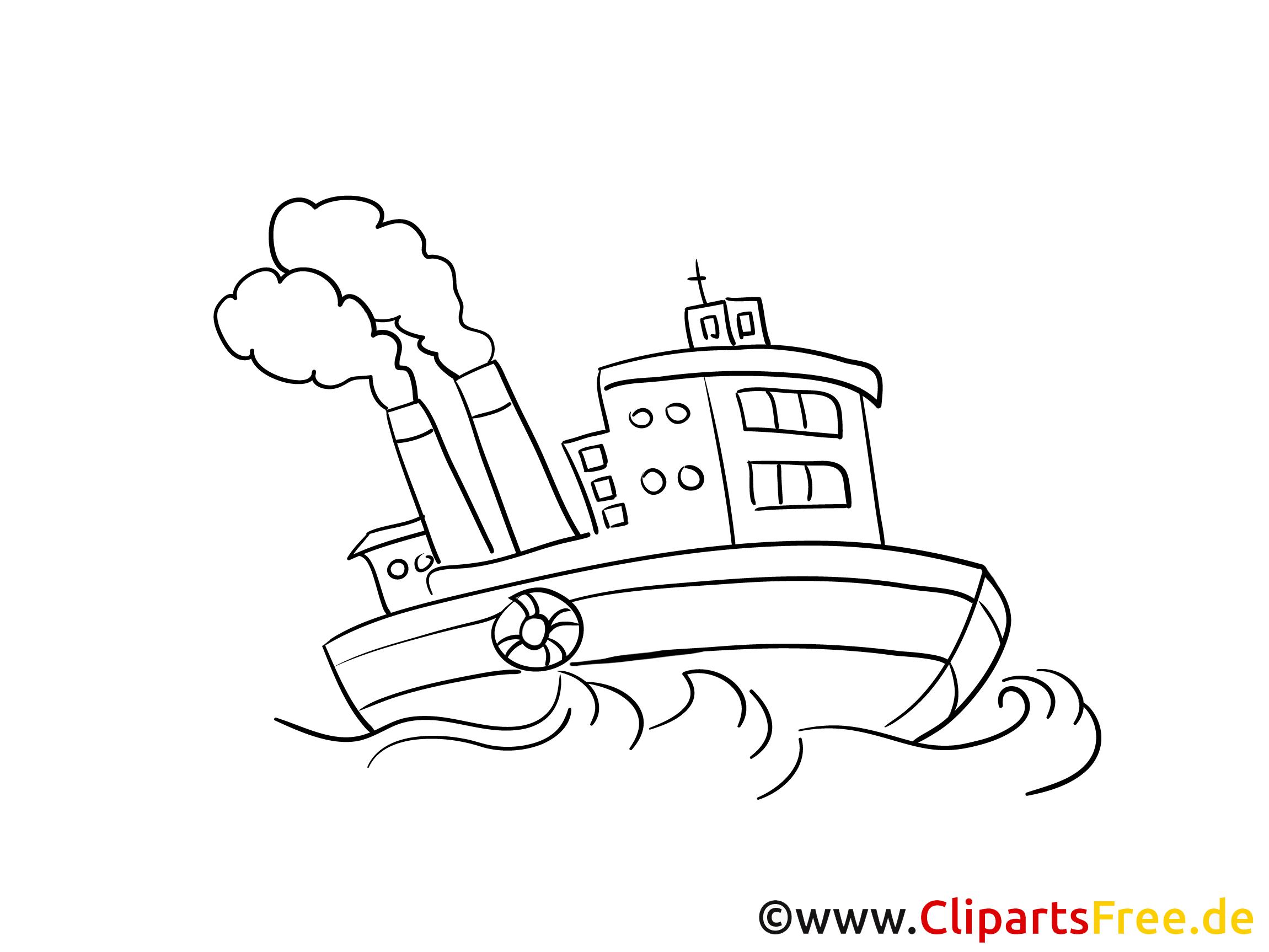 dampfer schiffe gratis malvorlage