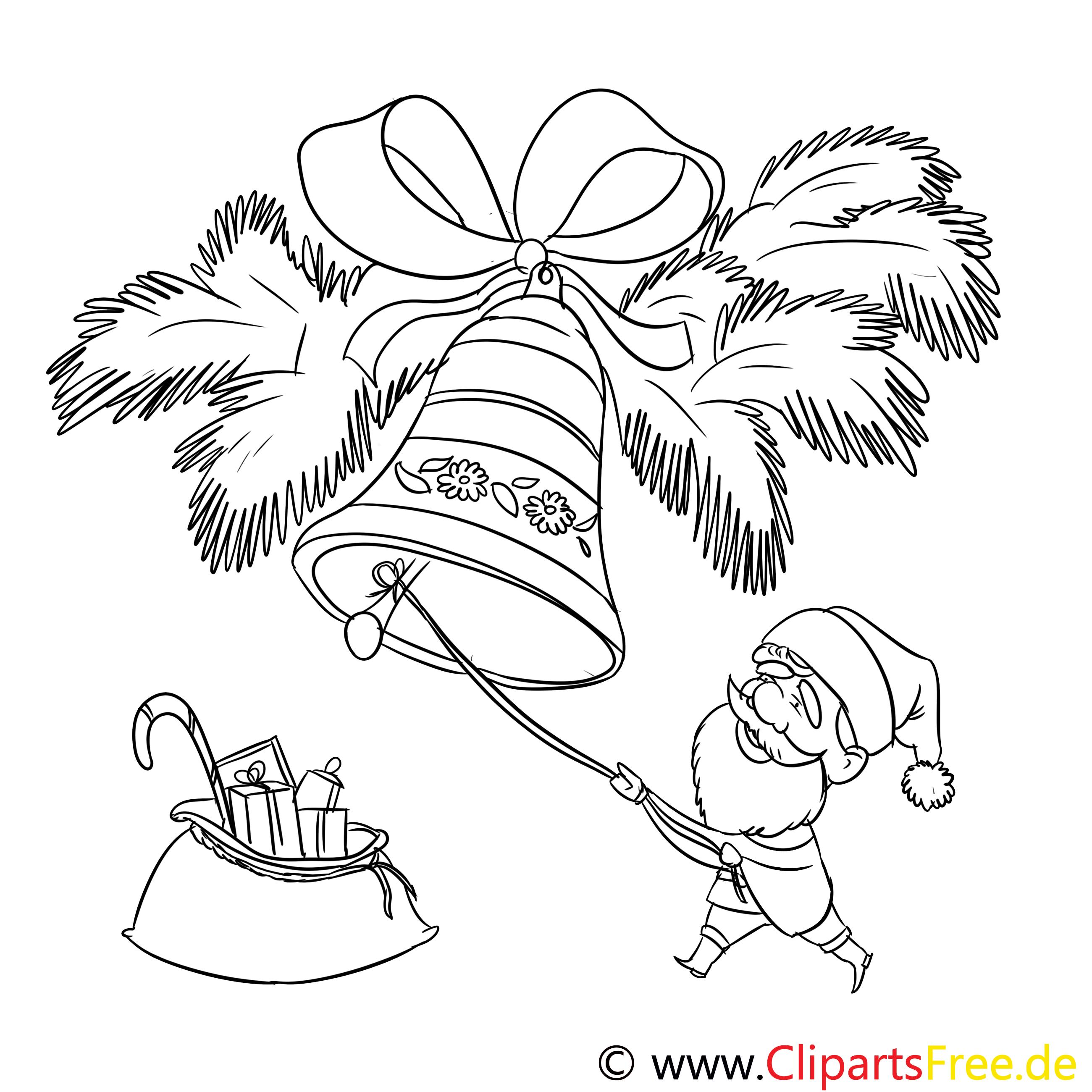 Glocke Sack Ausmalbild Malvorlage Zum Drucken Und Ausmalen