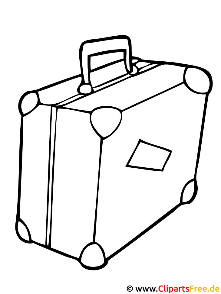 malvorlage koffer