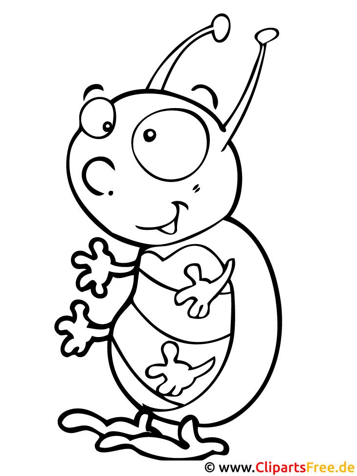 Atemberaubend Käfer Malvorlagen Für Kleinkinder Bilder - Framing ...