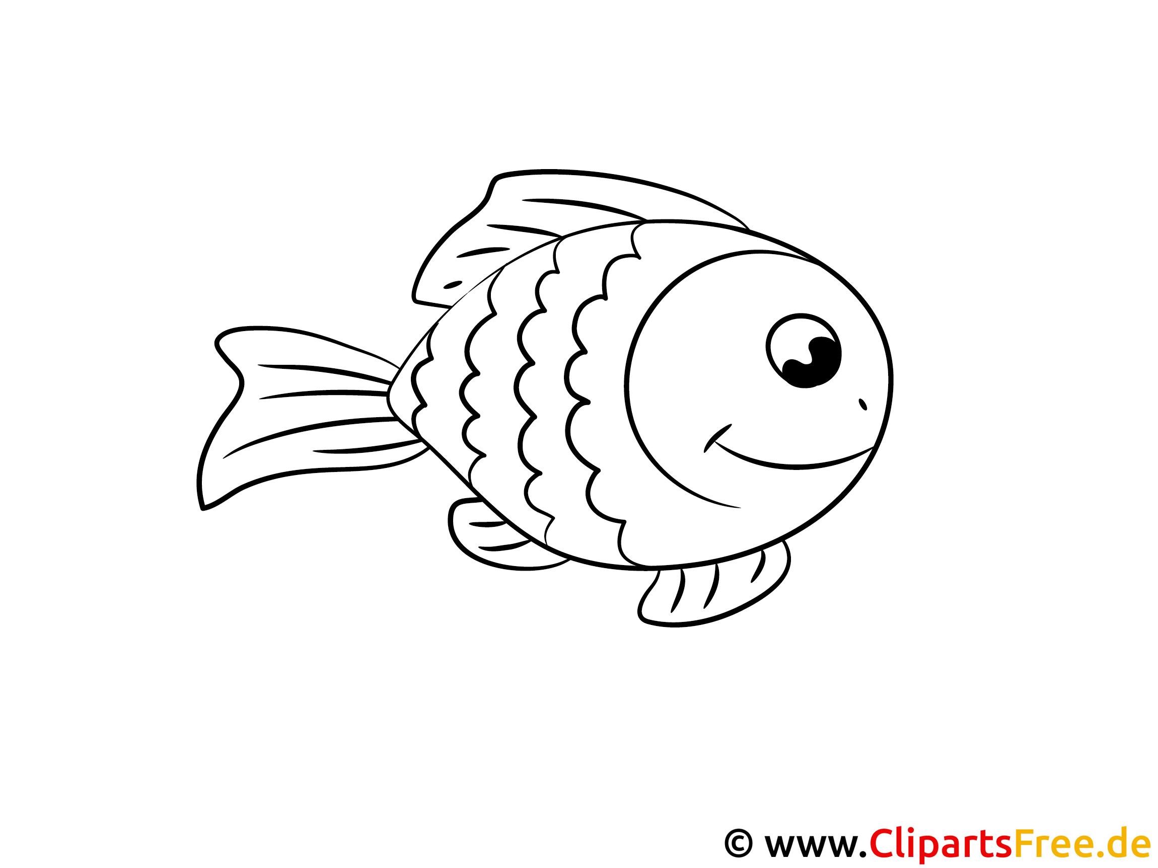 Fantastisch Cartoon Fisch Malvorlagen Ideen - Entry Level Resume ...