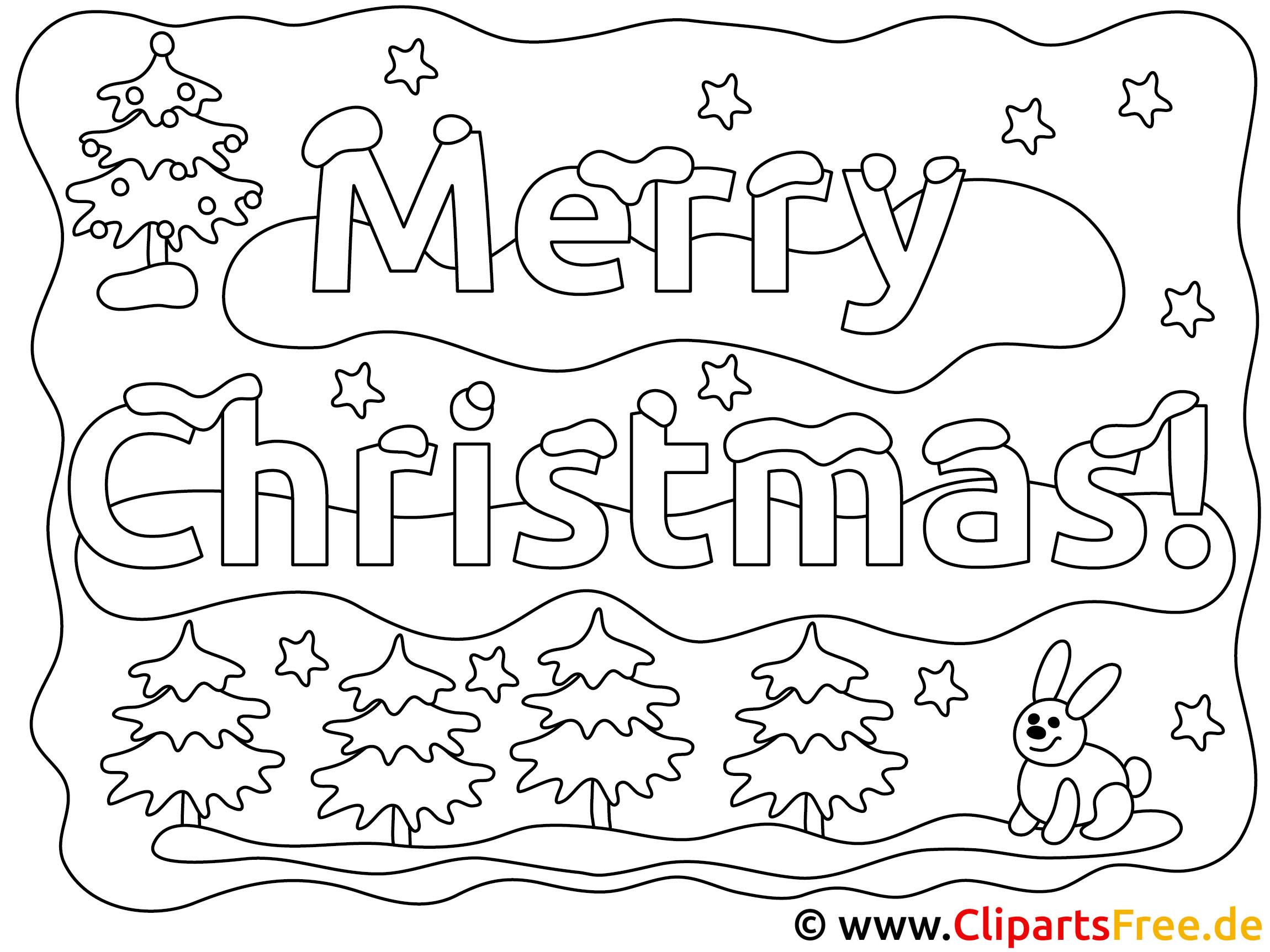Ausmalbilder Weihnachten Gratis.Weihnachten Ausmalbild