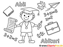Abi - Schule Malvorlagen