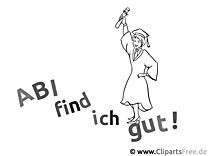 Abitur Ausmalbild - Schule Malvorlagen