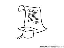 Diplom Bild - Schule Malvorlagen