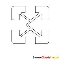 Logo zum Ausmalen
