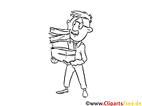 Malvorlage Bilanzbuchhalter