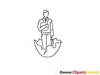 Mann Clipart-Bild - Bilder zum Ausdrucken