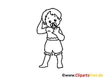 Kinderbilder zum Ausdrucken und Ausmalen gratis