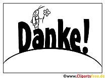 Grille Dankeskarte selber drucken)