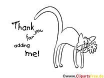 Katze Malvorlage lustig